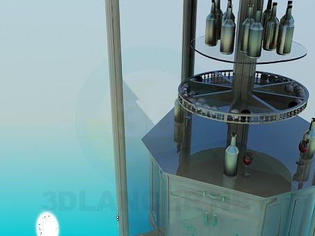 3d моделирование Угловой бар модель скачать бесплатно
