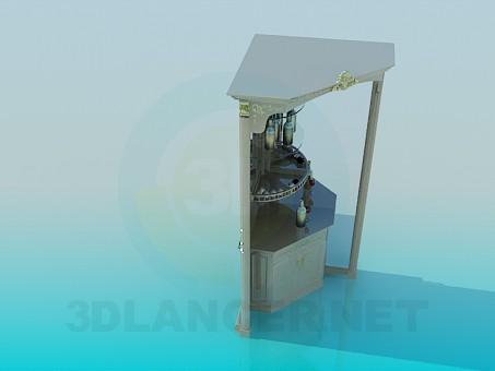modelo 3D El bar de la esquina - escuchar