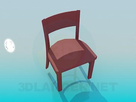 modèle 3D Chaise - preview