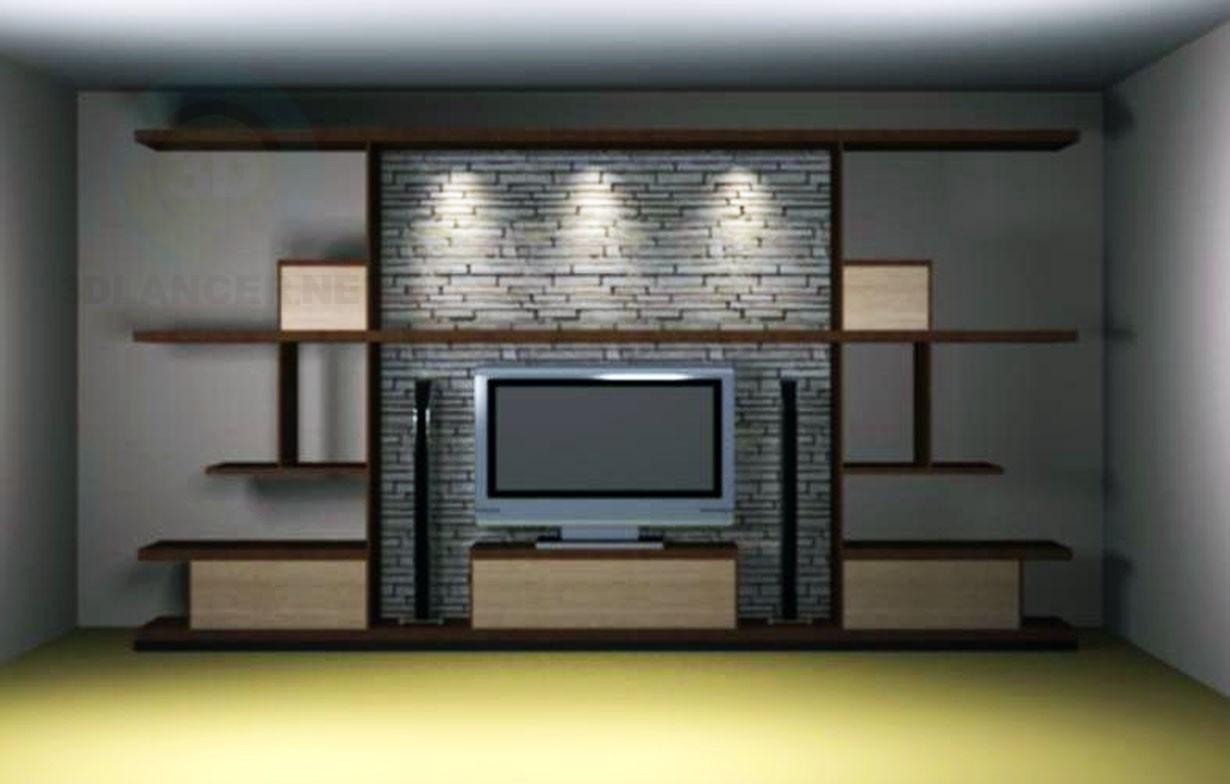 3d модель ТВ – превью