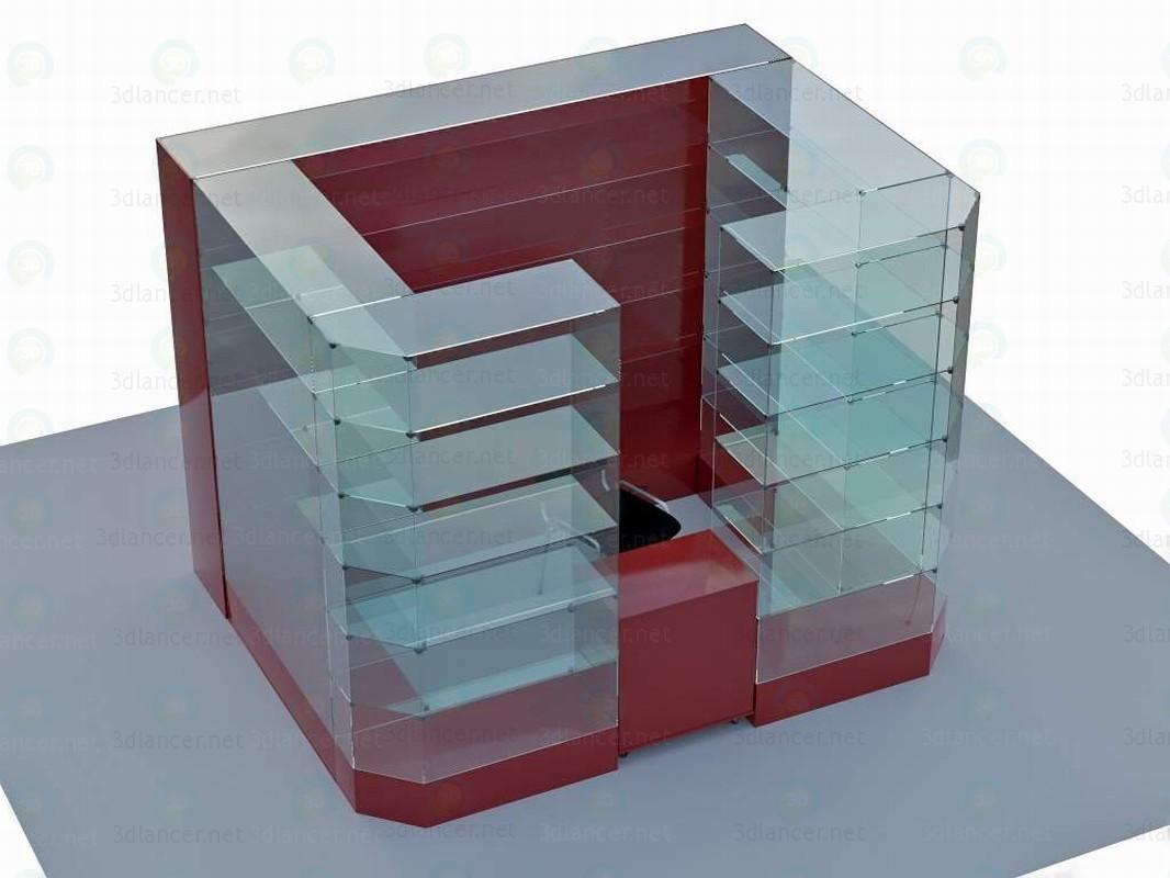 3d Showcase model buy - render