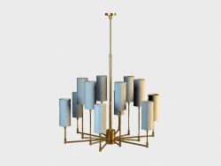 CLARENCE chandelier CHANDELIER (CH074-12-BRS)