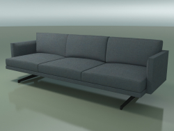 3-seater sofa 5247 (H-legs, one-color upholstery)