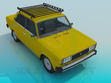 3d model VAZ 2105 - vista previa