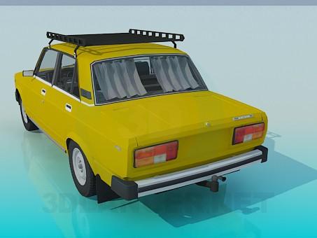 3d модель ВАЗ 2105 – превью
