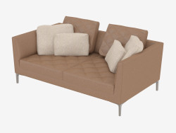 Leather Sofa Double DS-48-02