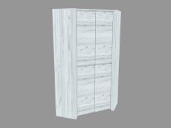 Case wardrobe angular 2D (TYPE 21)