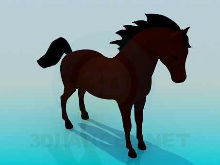 3d modeling Horse model free download