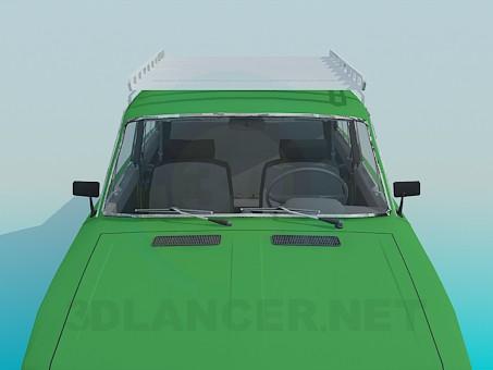 modelo 3D VAZ 2106 - escuchar