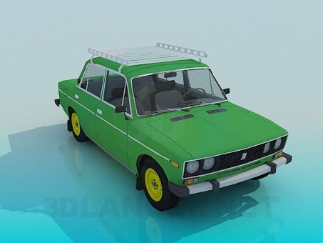 3d model VAZ 2106 - preview