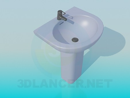 3d model Sink - preview