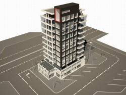 Il costruzione di Il attività commerciale Centro