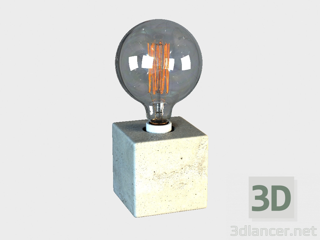 3d model CUBE table lamp TABLE LAMP (TL060-1),Gramercy Home max(2012