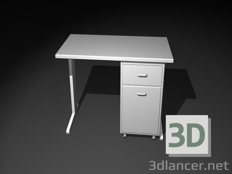 3d модель Робочий стіл для ПК – превью