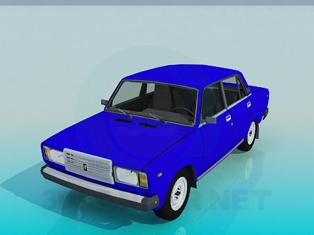 modelo 3D VAZ 2107 - escuchar