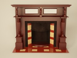 Fireplace neo-classic
