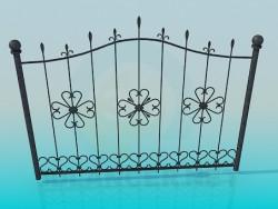 Portões de ferro forjado