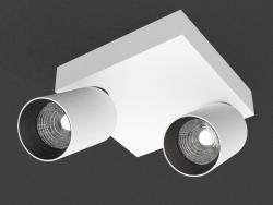 Светодиодный светильник (DL18629_01 White С + база DL18629 SQ2 Kit W Dim)