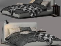 Magnum Bed di FlexForm