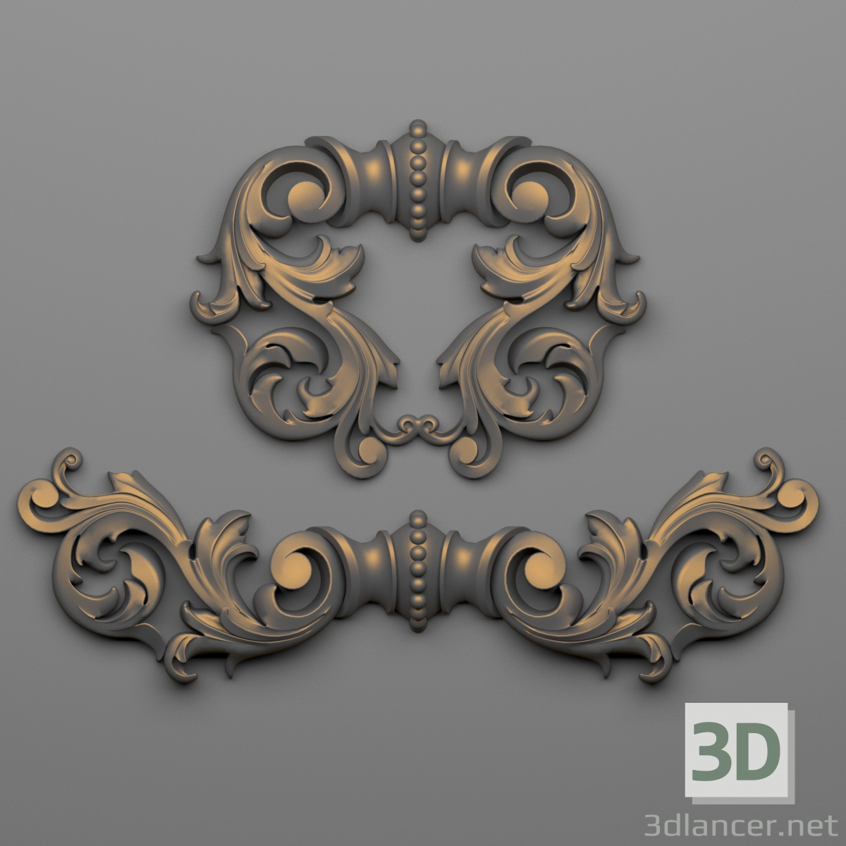 3d Decor 67 model buy - render