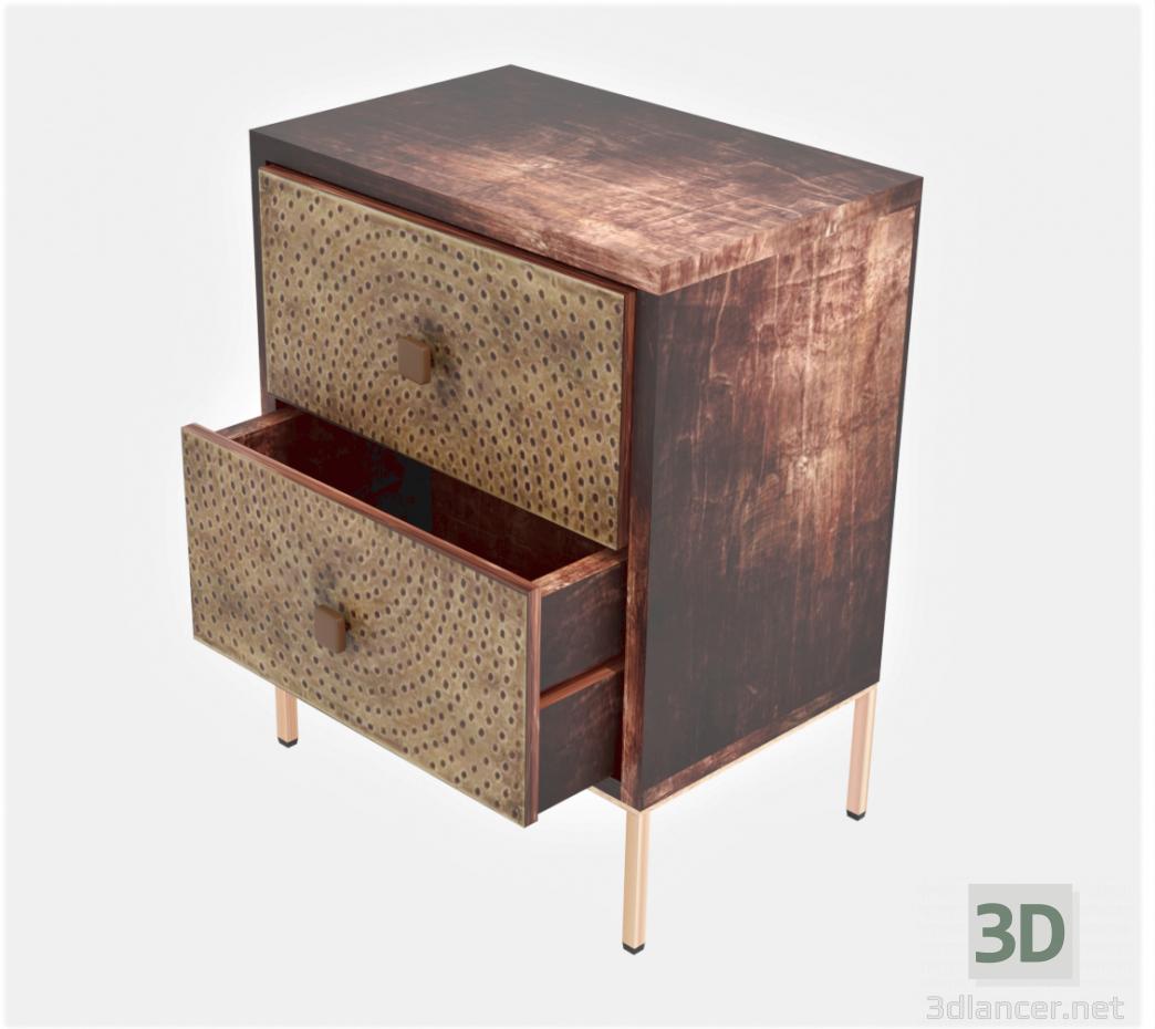 3d Nightstand model buy - render