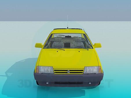 modelo 3D VAZ 2108 - escuchar