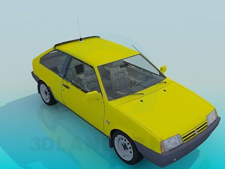 3d модель ВАЗ 2108 – превью