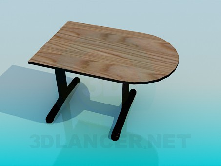 3d modeling A parietal table model free download