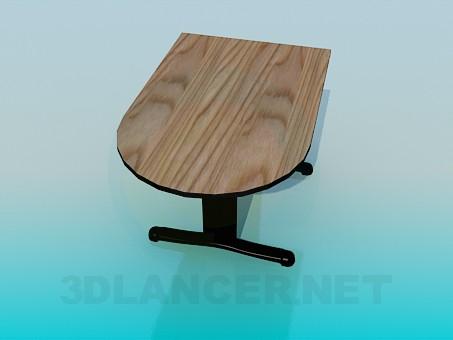 modelo 3D Una mesa parietal - escuchar