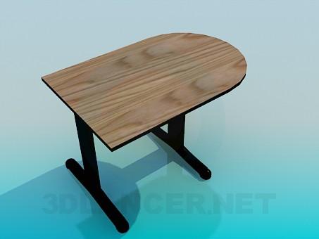 3d model A parietal table - preview