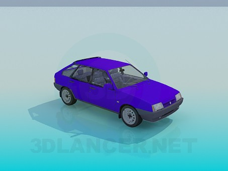 descarga gratuita de 3D modelado modelo VAZ 2109