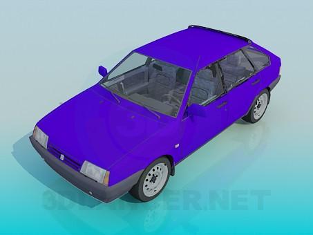 3d модель ВАЗ 2109 – превью