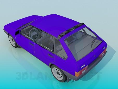 3d model VAZ 2109 - preview