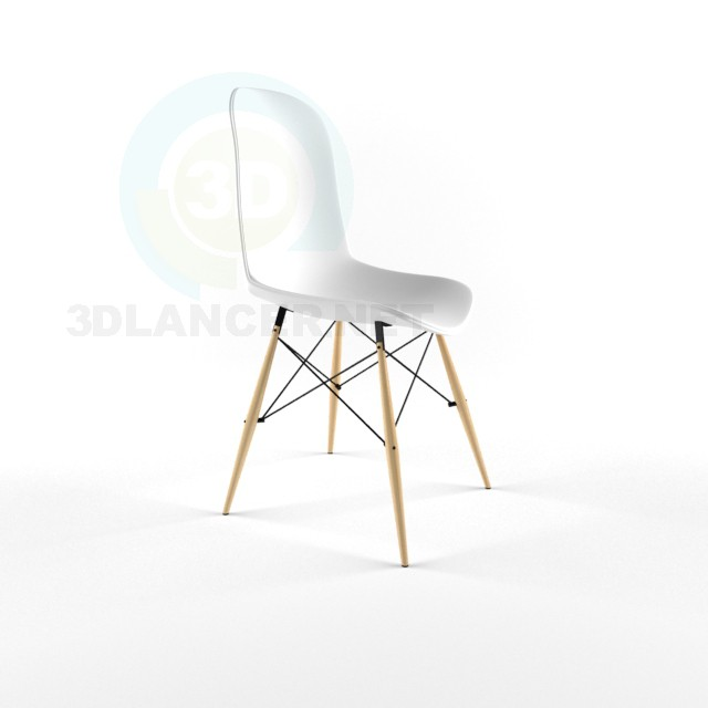 3d model Kitchen stool - preview