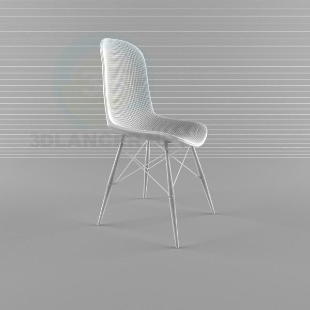 3d модель Кухонний стілець – превью