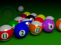Set di palle da biliardo