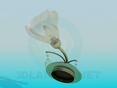 3d model Beautiful Sconce - preview