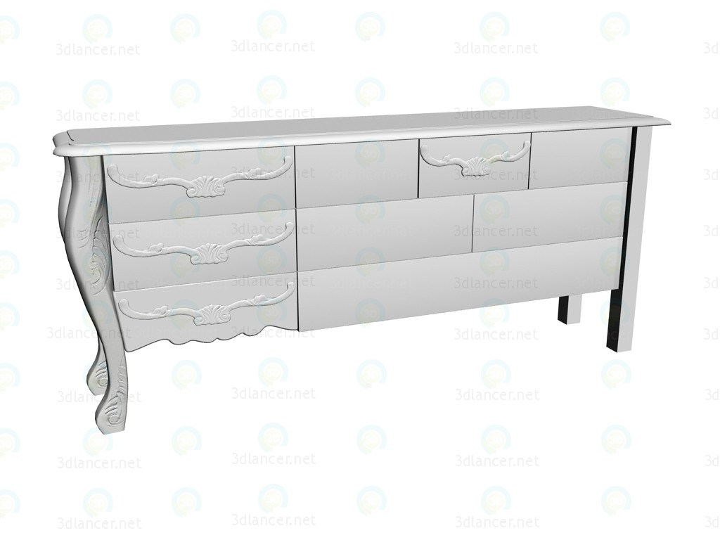 3d model Commode Janus - preview