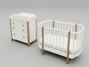 Children's furniture set Ellipse classic