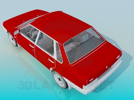modelo 3D VAZ 2199 - escuchar