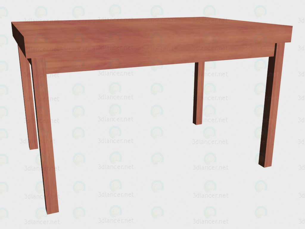 3d model Table folding (folded) - preview