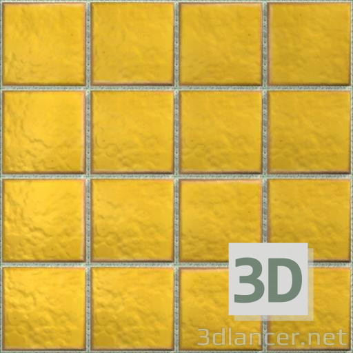 Yellow tiles download texture - thumbs