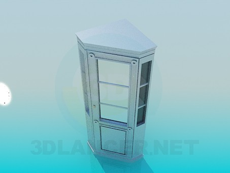 3d modeling Corner cabinet model free download