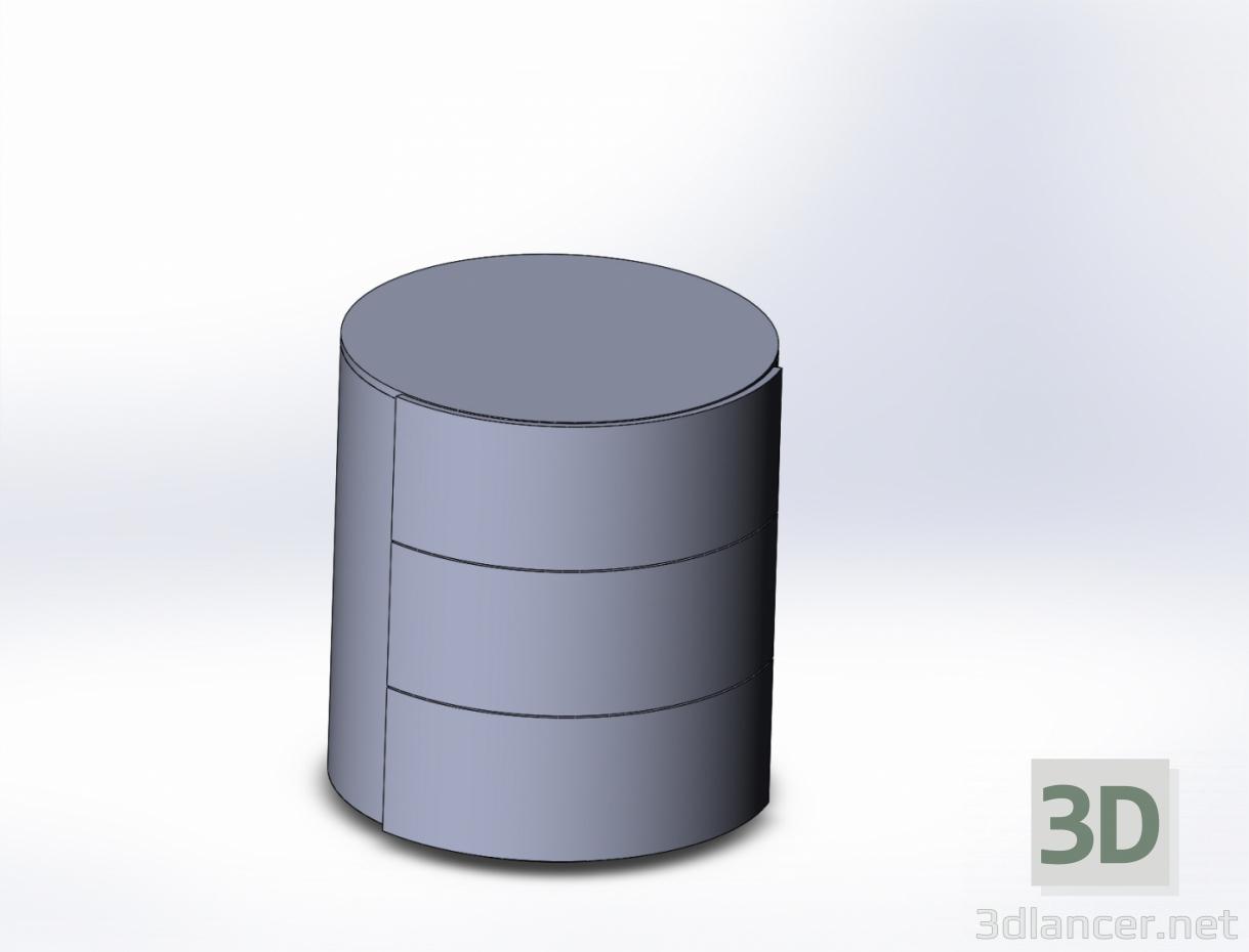 3 डी मॉडल कर्बस्टोन गोल - पूर्वावलोकन