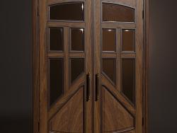 Porta battente in legno