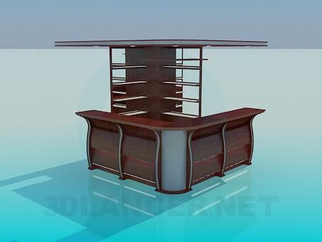 3D modeli Resepsiyon - önizleme