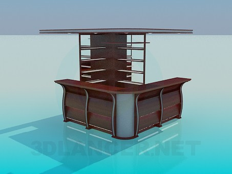3d modeling Reception model free download