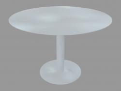 Tavolo da pranzo (laccato bianco D110)