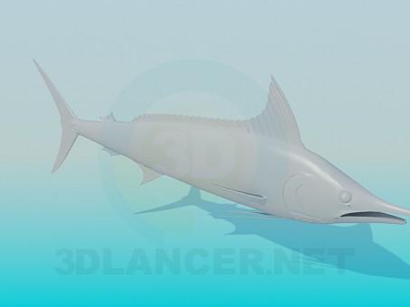 Scarica di Pesce spada modello gratuito di modellazione 3D