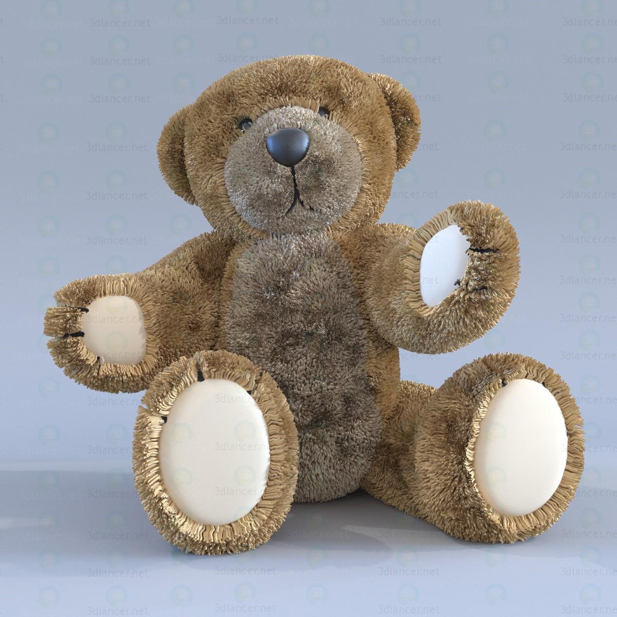 3d моделирование Teddy мишка модель скачать бесплатно